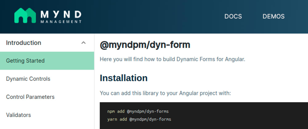 Cover image for Parametrized Validators in Dynamic Forms