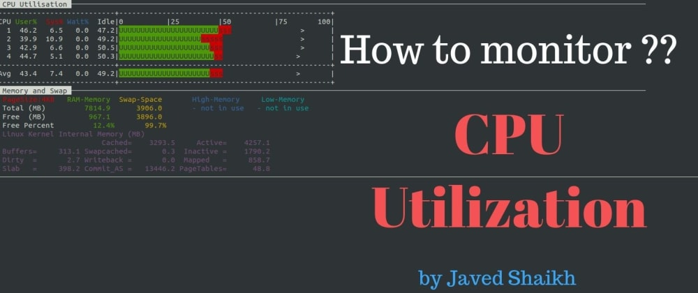 Cover image for How to monitor CPU utilization in Linux