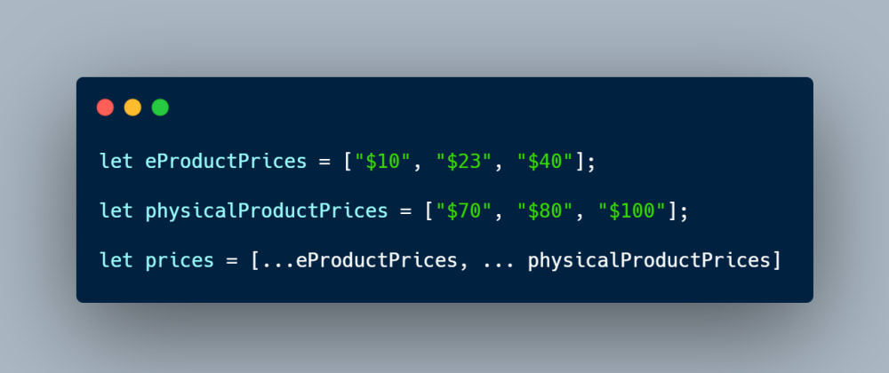 Cover image for Rest Parameter and Spread Operator in JavaScript