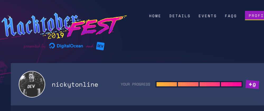My Hacktoberfest 2019