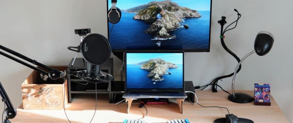 Cover image for Jordan's Remote Work Setup 2020