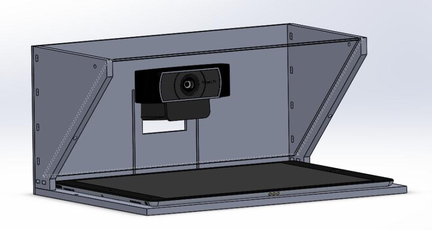 Teleprompter model