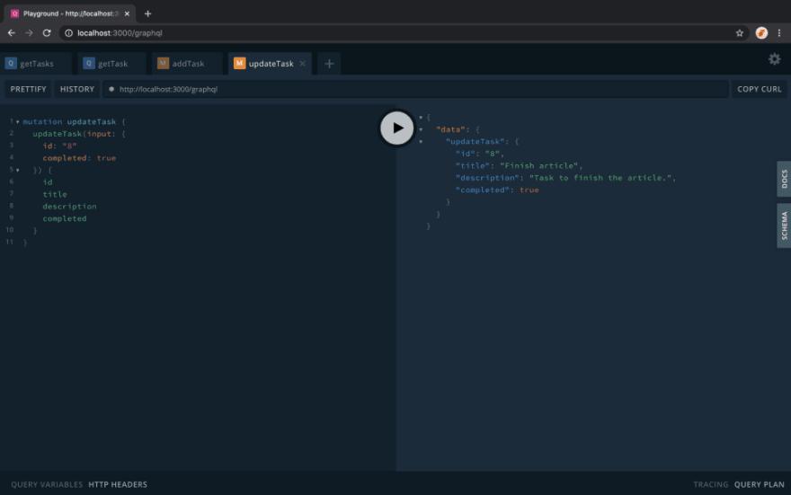 Running-the-App---update-task