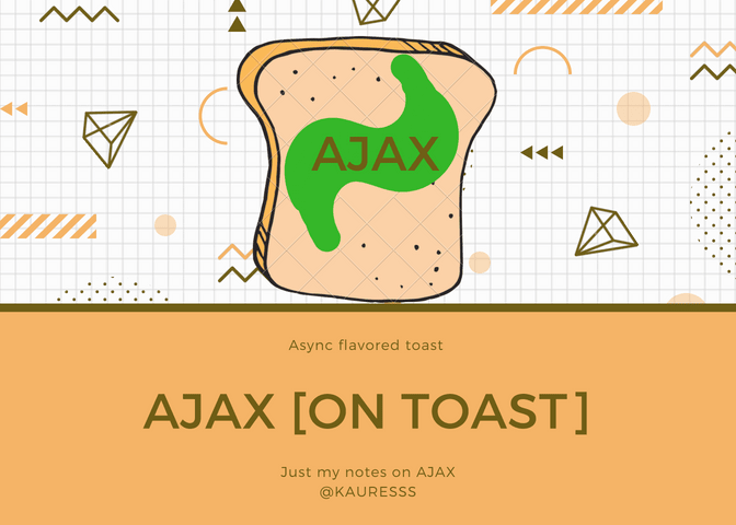 AJAX on toast