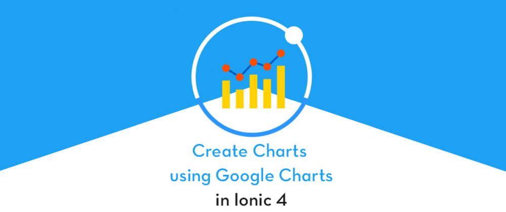 Cover image for Adding Charts in Ionic 4 apps and PWA: Part 4— Using Google Charts