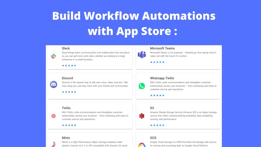 NocoDB: app store