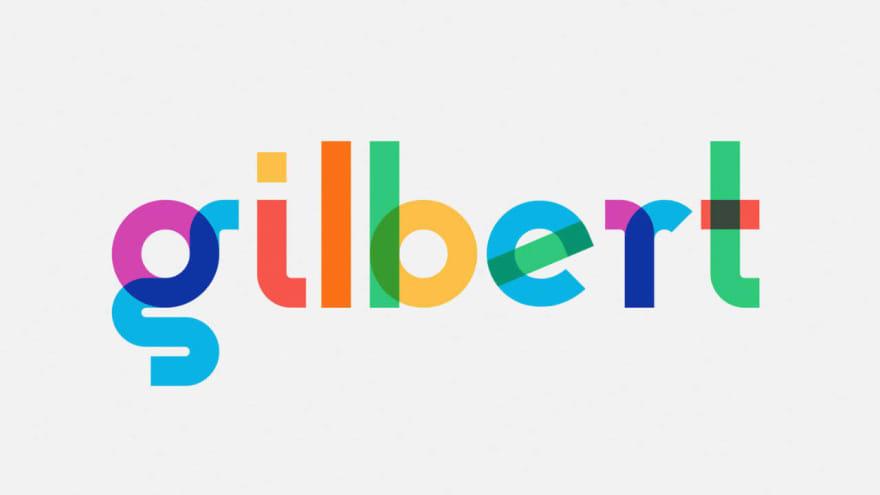 Gilbert font sample
