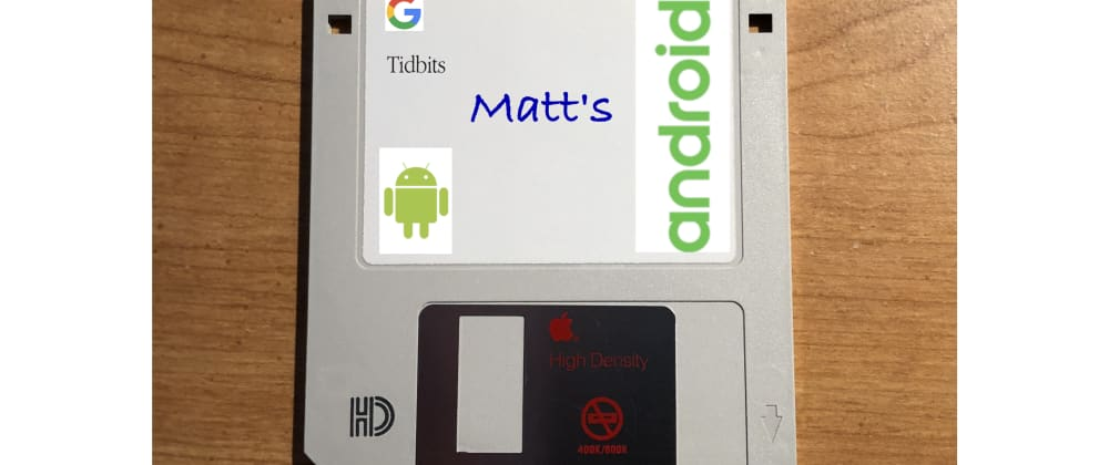 Cover image for Matt's Tidbits #88 - Using patches