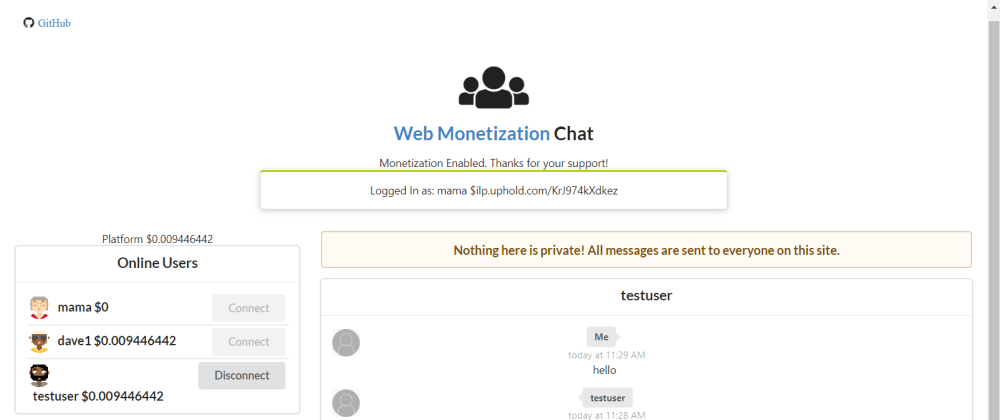 Cover image for GFTW Hackathon submission: Money Chat