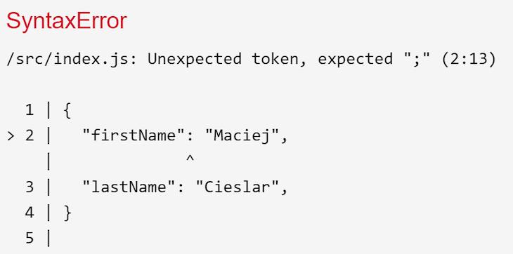 Invalid Syntax Error
