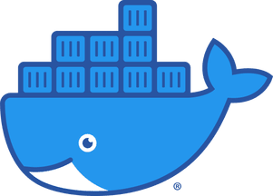 Docker whale 'Moby' logo