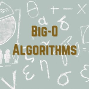 Big-O Algorithms Course