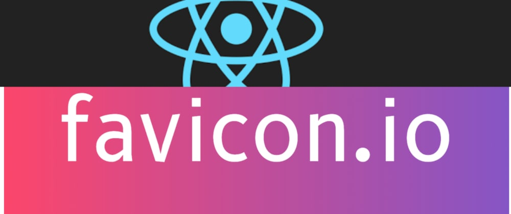 Cover image for Changing React's custom 'Atom' icon using favicon.io in 4 easy steps