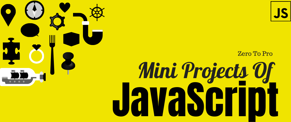 Cover Image for 🚀#3 JavaScript Project Series.