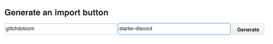 Populating the GitHub details