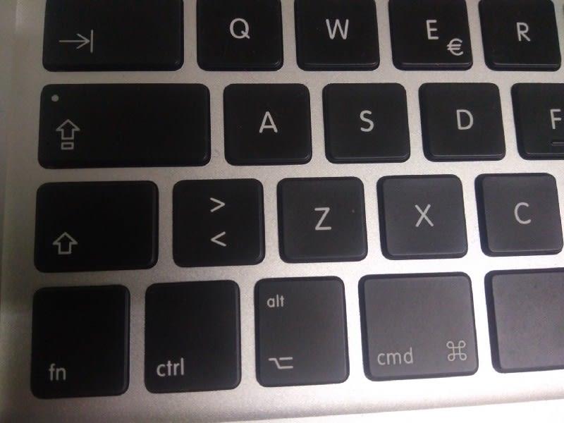 Alt Mac Keyboard distribution