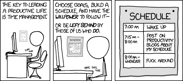 XKCD - Time Management