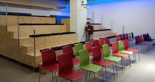 ULab, the coworking center where we host the meetups