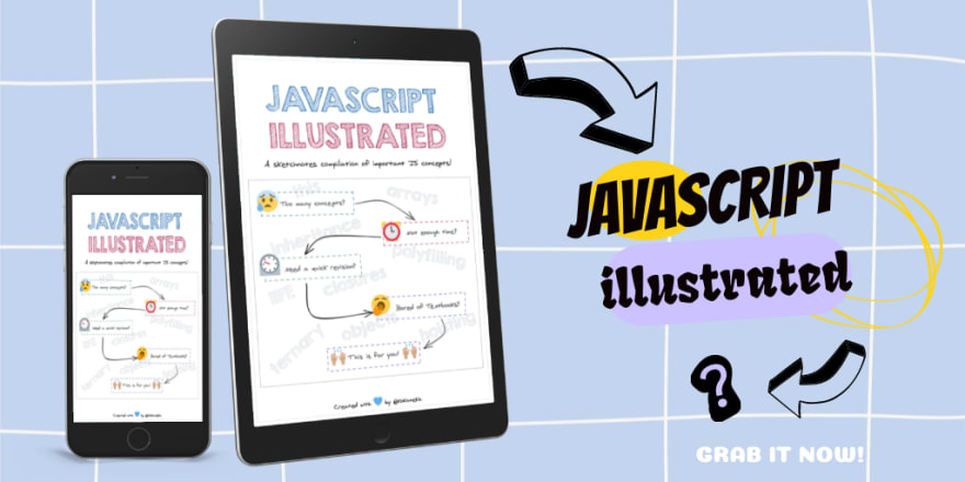 js illustrated book