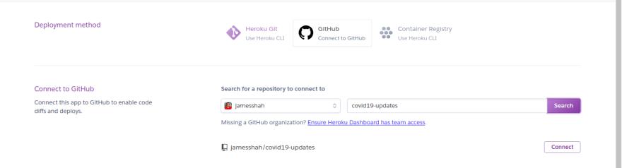 Github Heroku Connect