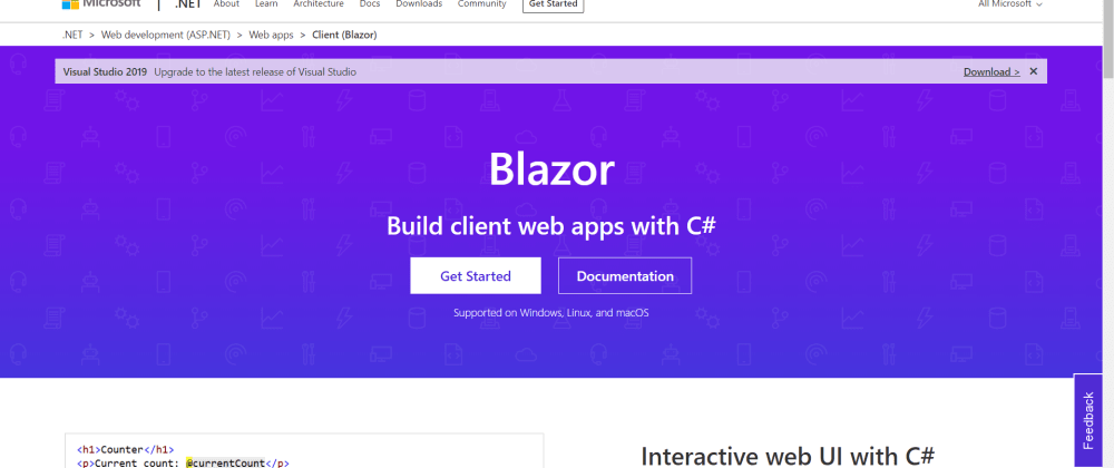 Cover image for Simple Todo App with Blazor Server and Material Blazor