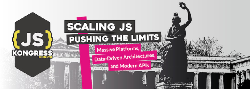 JSKongress Scaling JS – Pushing the limits, Bavaria statue in background