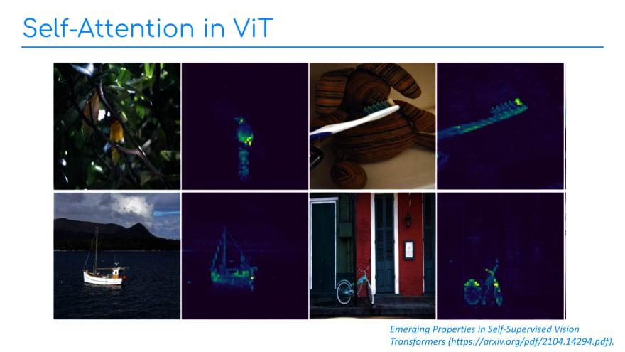 Slide 4: Self-attention in ViT.