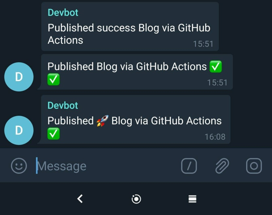 telegram chat message example