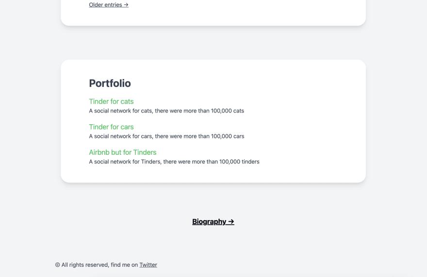 Home Page - Portfolio