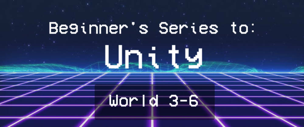Cover image for Unity 103: Input