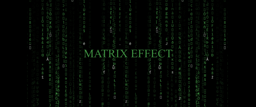 Cover image for How to create the popular Matrix effect (digital rain) in Flutter