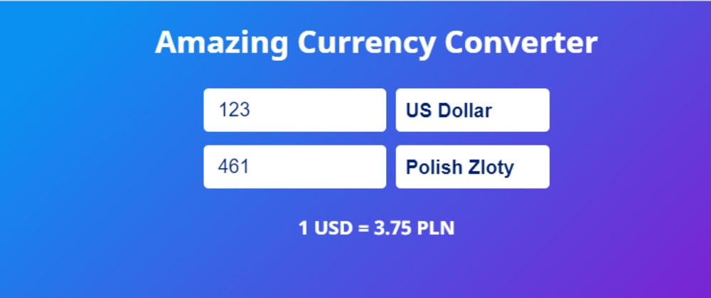 Cover image for Amazing Currency Converter