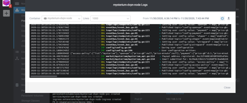 Cover image for Let's run a VPN with Kubernetes! - How to deploy the Mysterium dVPN on K3s