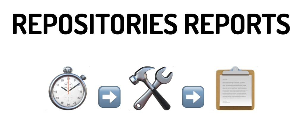 Cover image for Automation to get Github repositories insights reports