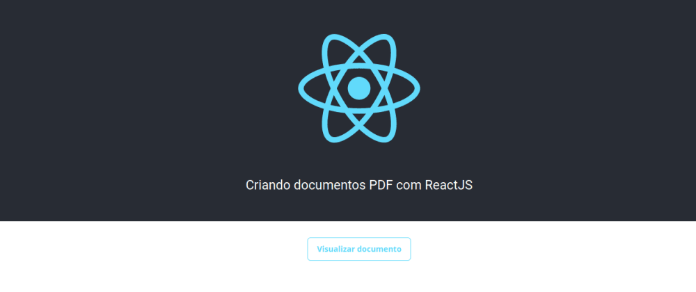 Cover image for Criando documentos PDF com ReactJS