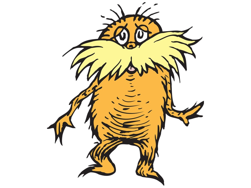 image of Dr. Seuss' Lorax