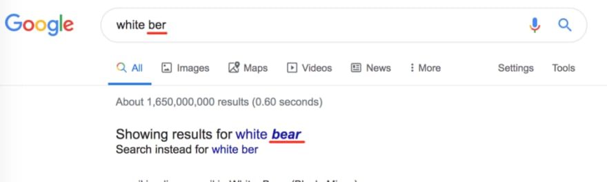 ber bear search
