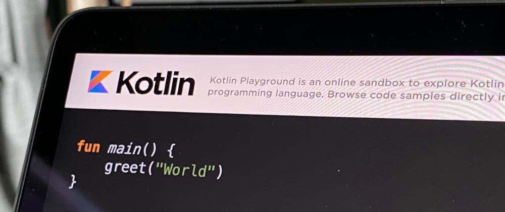 Cover image for Kotlin is so nice – it prevents bugs 🐛 before you add them…