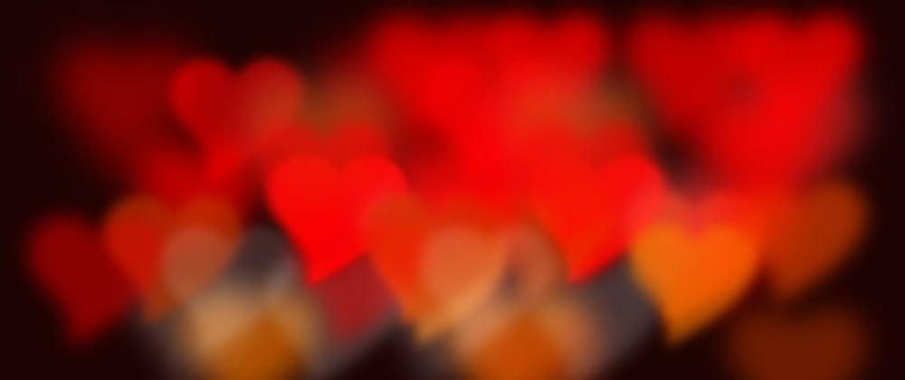 Cover image for Heart Shape Bokeh CSS Effect
