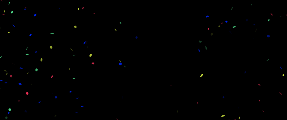 Cover Image for How to create beautiful confetti animations with tsParticles