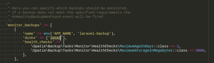 Nova-Backup Misconfiguration