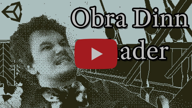 1-bit Graphics In Unity | Obra Dinn Tutorial - Shaderlab