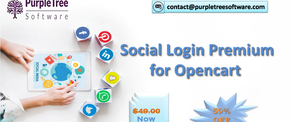 Cover image for How Purpletree Social Login Premium extension work in Opencart?
