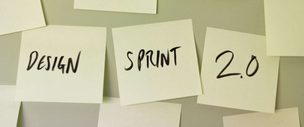 Cover image for Design Sprint 2.0: UX design's new best friend