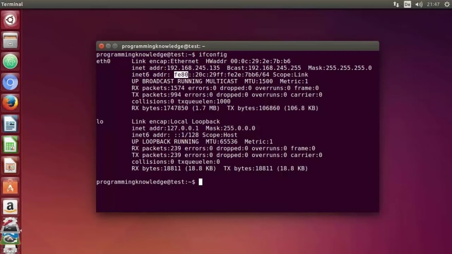 command line ubuntu terminal
