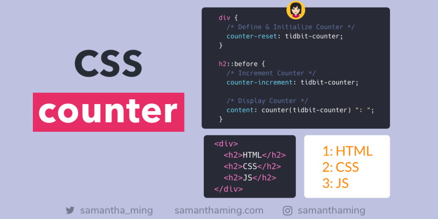 A Guide to CSS counter