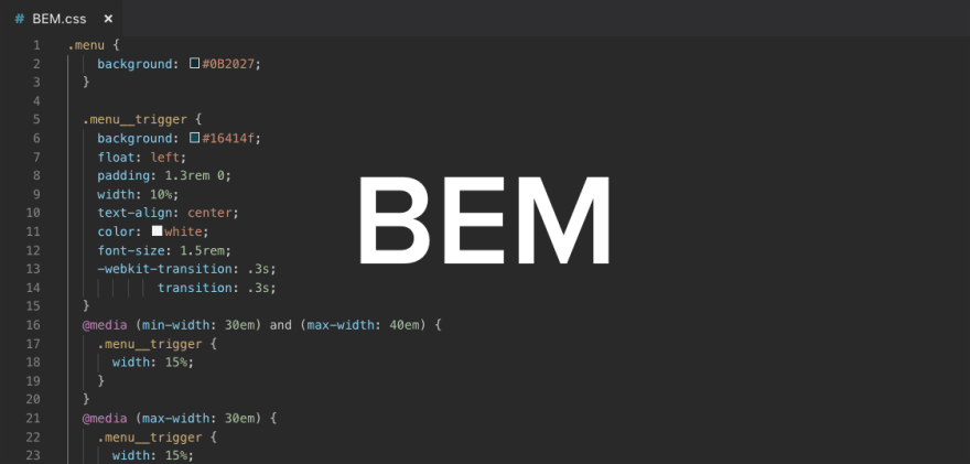 Example of BEM