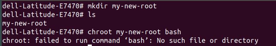 set new root