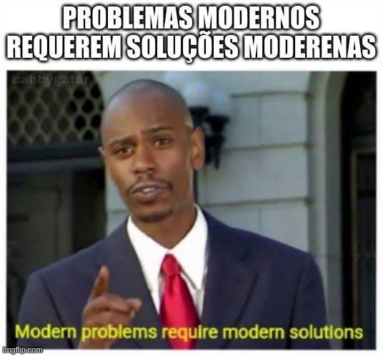 Alt problemas modermos e soluções modernas
