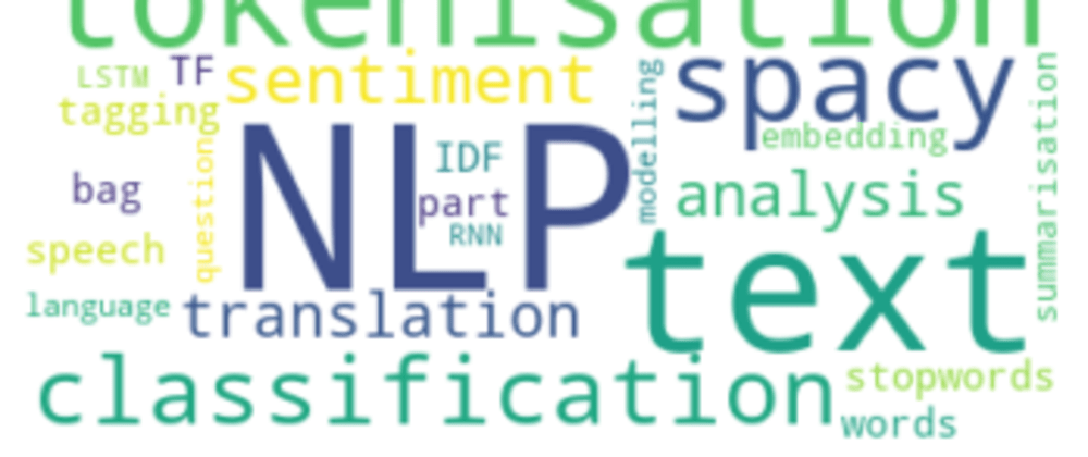 Cover image for Getting Started in NLP